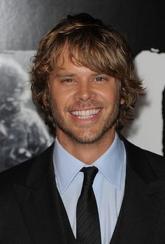 Eric Christian Olsen aka Marty Deeks from NCIS: Los Angeles - He can put his shoes under my bed anyway!!!!!!!!!!!!