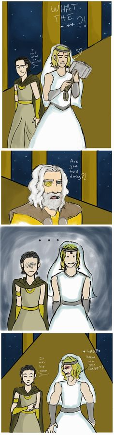 BAHAHA! I UNDERSTOOD THAT REFERENCE!! NORSE MYTHOLOGY FTW! -->> Mjolnir by Kerolunatica on deviantART #lokifanart