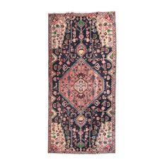 Hand-Knotted Persian Hamadan Wool Long Rug   EBTH Long Rug 25da214bb