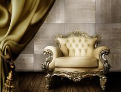 Luxurious Wood Wall Tiles with Elegant Design for Royal Room