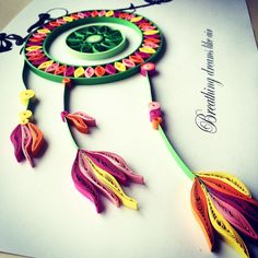 quilling dreamcatcher bicycle