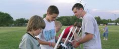 SPACE 101  Rockets and Living in Space  4-day overnight camp for students entering grades 7 & 8.