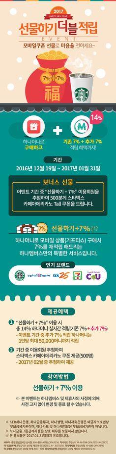 하나멤버스 기프티쇼 선물하기 +7% 이벤트