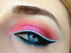 Skyblue eyeliner