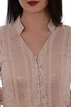 61 Trendy churidar neck designs to try in 2019 Neck Designs For Suits, Neckline Designs, Designs For Dresses, Dress Neck Designs, Sleeve Designs, Blouse Designs, Salwar Designs, Churidar Neck Designs, Kurta Neck Design