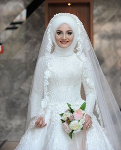 fashion hijab Fashion Hijab Mariage : Not - fashion Muslim Wedding Gown, Muslimah Wedding Dress, Muslim Brides, Wedding Hijab, Pakistani Wedding Dresses, Bridal Dresses, Bridesmaid Dresses, Muslim Couples, Dress Wedding