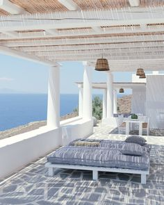 House in the Cyclades Summer House, House, Home, Island House, Greek House, Mediterranean Decor, Interior And Exterior, Outdoor Living, Porch And Terrace