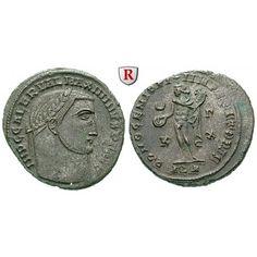 Römische Kaiserzeit, Maximinus II., Follis 311-312, vz: Maximinus II. 309-313. AE-Follis 25 mm 311-312 Alexandria. Kopf r. mit… #coins