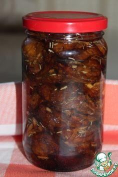 Пряные вяленые сливы Pickle Jars, Marmalade, Bon Appetit, Pickles, Celery, Bbq Grill, Grilling, Kitchen Stories, Home Canning