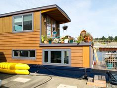 15 Stylish Houseboats for Sale and for Rent   Home Remodeling - Ideas for Basements, Home Theaters & More   HGTV