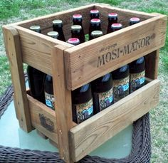 Beer Crate http://www.homebrewtalk.com/f35/build-beer-crate-out-two-fence-pickets-314443/