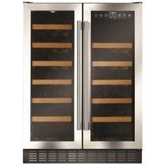 CDA Under Counter Wine Cooler 60cm Stainless Steel - CDA from Kitchen Appliance Centre UK