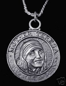 new mother teresa sterling silver pendant charm jewelry Real Sterling silver 925 pendant Charm jewelry by princeofdiamonds