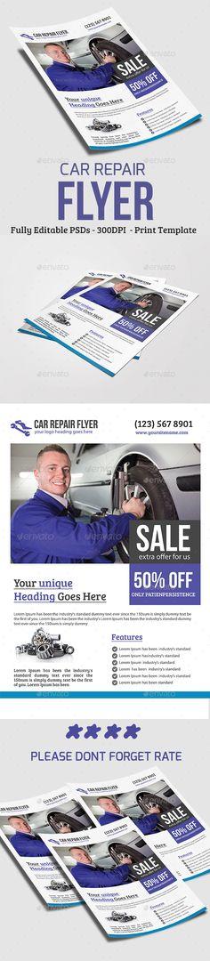 Product Promotion Design V02 u2013 Free Flyer PSD Template + Facebook - car for sale flyer template