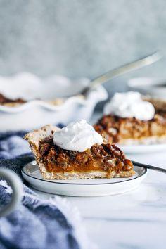 Vegan Sweet Potato Pecan Pie + A Giveaway - Making Thyme for Health