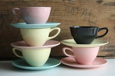 Vintage California Pottery // 1950's Monterey di riceandbell, $45.00