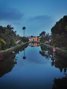Venice Canals Sunrise by Evidence