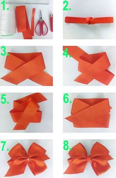 a pair of scissors and three strands of wide Stain Ribbon, you can handle this how to make hair bows plan rapidly.How to make Hair Bows - Free Hair Bow Tutorials Made the elephant for a friend and she loved it!DIY bow with simple instructions. Making Hair Bows, Diy Hair Bows, Diy Bow, How To Make Hair, How To Make Bows, Cheap Valentines Day Gifts, Christmas Window Decorations, Hair Bow Tutorial, Shabby Chic Christmas