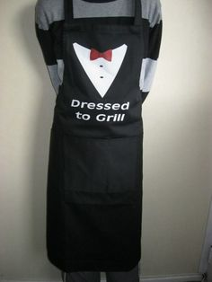 a587310cbe0 Dressed to Grill Mens Funny Spy Apron