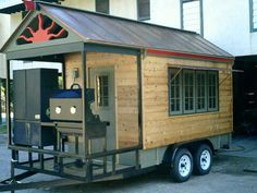 Florida Business For Sale, New Concession Trailer Used. Custom Bbq Smokers, Custom Bbq Pits, Bbq Smoker Trailer, Bbq Pit Smoker, Concession Food, Concession Trailer, Tailgate Trailers, Catering Trailer, Bbq Catering