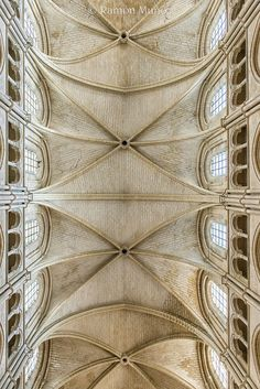 Catedral de Laon 1160 Bóvedas nave central