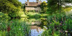 Pond at Stavordale Priory, Somerset, United Kingdom