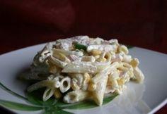 10 olcsó tésztasaláta tejfölös öntettel | nosalty.hu Ale, Cabbage, Meat, Chicken, Vegetables, Cooking, Recipes, Food, Kitchen