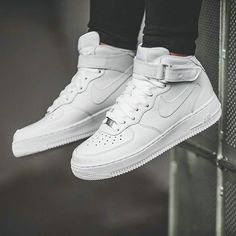 Nike Shoes Nike Air Force 1 Womens Mids Color White Size 10 is part of Shoes - Nike Air Force Ones, New Nike Air Force, Nike Air Max, Nike Free Runners, Nike Free Shoes, Nike Shoes Outlet, Air Force Mid, Zapatillas Nike Air Force, Looks Hip Hop