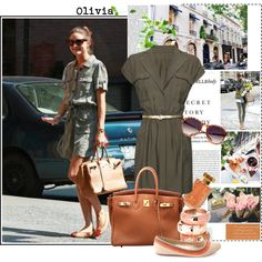 A fashion look from July 2012 featuring MANGO dresses, Charlotte Russe flats and Hermès handbags. Browse and shop related looks.