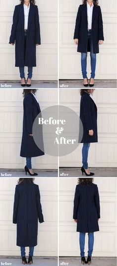 Adventures in Alterations - Tailoring a Coat - Alterations Needed