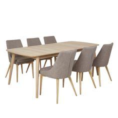 spisebord m/6 stoler - MARTINSEN AS - Nordli - Møbelringen