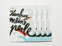 navucko. 4er Kartenset »Hamburg meine Perle«