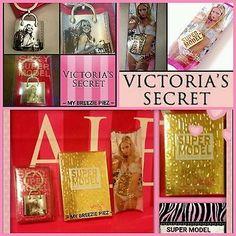 MY BREEZIE PIEZ@ eBay Victoria's Secret 3pc SET ~ SUPERMODEL 2.5oz. EDP ~ Dog Tag Necklace ~ Key Chain
