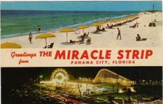 Greetings from the Miracle Strip. Panama City Beach, Florida. by stevesobczuk, via Flickr