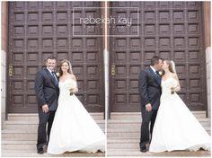 Rebekah Kay Photography www.rebekahkay.com  Windham, NH Wedding Photography Gorgeous Bride and Groom  #rebekahkayphotography #weddingphotos #ido #kissing #Churchwedding #whitewedding #flowers #weddinggown #love