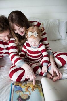 family christmas pajamas | matching family christmas PJs | give please a chance | family christmas traditions | jess oakes | positively oakes | bill o'reilly