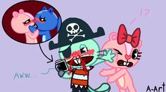 Stupid pirate by HandyxRussell10.deviantart.com on @deviantART