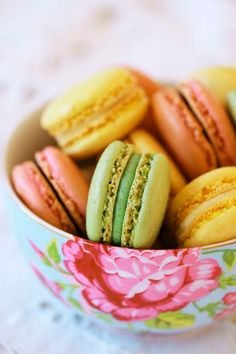 Macarons  | More foodie lusciousness here: http://mylusciouslife.com/photo-galleries/wining-dining-entertaining-and-celebrating/