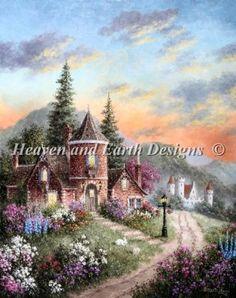 Castle Ridge Manor by Dennis Lewan for HAED