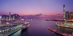 Hong Kong Cruise Terminals are located in the heart of Victoria Harbour along with the new super cruise terminal opening soon at the former Kai Tak airport. Hong Kong Tourism Board, Places In Hong Kong, Discover Hong Kong, Star Ferry, Pacific Place, Victoria Harbour, Turquoise Water, Beach Fun, Beautiful Places