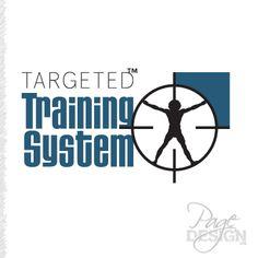 Targeted Training System logo Train System, Page Design, Calm, Training, Graphic Design, Logos, Artwork, Decor, Work Of Art