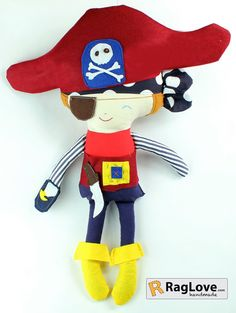 Pirate Boy  15 inches  $40