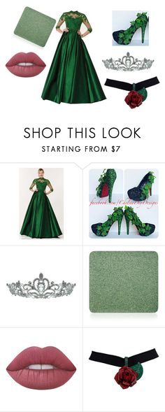 """""""prom queen choice #6"""" by bunny05 on Polyvore featuring beauty, Alyce Paris, Kate Marie, Inglot and Lime Crime"""