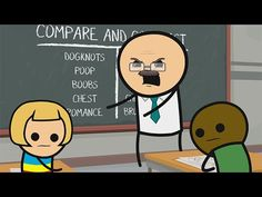 Classroom - Cyanide & Happiness Shorts