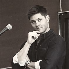[gif] Jensen's got pretty much the cutest smile ever. IT's very high on my list of cute smiles at least.