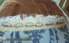 Krémes álom recept fotóval Tiramisu, Ethnic Recipes, Food, Essen, Meals, Tiramisu Cake, Yemek, Eten
