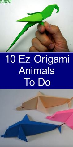 10 Ez Origami Animals To DoHistory of Origami Origami is known as Japanese art because Origami Ball, Diy Origami, Origami Horse, Origami Cube, Paper Crafts Origami, Useful Origami, Origami Design, Origami Tutorial, Paper Oragami