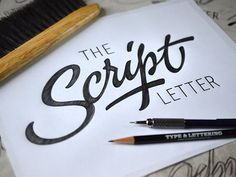 Ken Barber Calligraphy. 15 Must Follow Calligraphers on Dribbble #Calligraphy #Typography