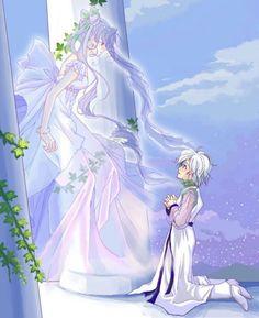 Sailor Moon - Helios x Chibiusa Tsukino - HeliUsa Sailor Moons, Sailor Moon Crystal, Sailor Chibi Moon, Sailor Venus, Chibiusa And Helios, Sailor Moon Personajes, Sailor Saturno, Manga Anime, Millenium