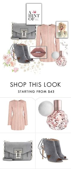 """""""Pastel"""" by melli-ssa ❤ liked on Polyvore featuring Balmain, Proenza Schouler, BOSS Hugo Boss, outfit, beautiful, pastel and ownthelooks"""